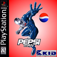 Pepsi Man PlayStation